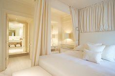 creamy white bedroom suite