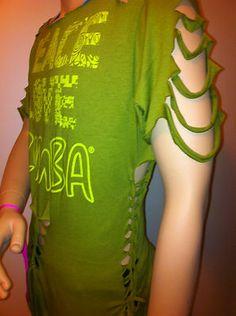 Zumba Crazy Peace Love Zumba Customized Shirt Green Cut | eBay
