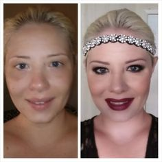 Mama's Crazy Happy Life: 1920's Great Gatsby Inspired Makeup