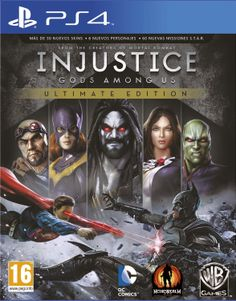 Play your favorite DC Comics heroes and villains in fast-paced combat with Injustice: Gods Among Us-Ultimate Edition for PlayStation Vita. New characters include Batgirl, Lobo, Martian Manhunter and more. Mortal Kombat, Solomon Grundy, Injustice 2, Lois Lane, Dc Comics, The Flash, Superman, Arcade, Killzone Shadow Fall