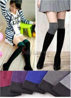 Hot Sales!! Korean Japan Style Fashion Cute Winter Knee Long Sock  #Unbranded #Casual