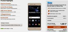 Huawei P10 Lite mit Vertrag für 1,00 Euro zum Tarif Blau Allnet XL im O2 Netz und erhalte dafür eine  4 GB LTE Internet-Flatrate mit bis zu 21,6 MBit/s , Allnet-Gesprächsflat in alle Netze und eine SMS-Flat in alle dt. Netze mit 8,39 € rechnerische monatliche Grundgebühr über 24 Monate im Netz von O2.   #Android #Smartphone #Huawei #HuaweiP10lite
