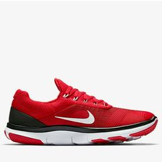 Georgia Bulldogs Nike Free Trainer v7 Spring Games Collection Shoes - Red