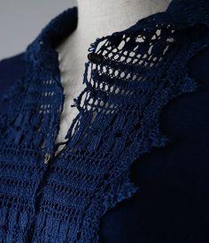 M71417 チュニック丈カットソー|日本製やフランス製の上質なレース Onlineshop|原宿レース専門店 THE LACE CENTER harajuku  #miyaco #fashion #lace  #レース #カットソー #刺繍