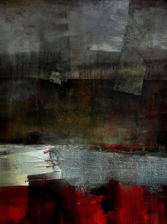 Constantine Inal-Ipa(Abkhazian, b.1963)/ Composition. Vertical    2011/ canvas, acrylic, collage