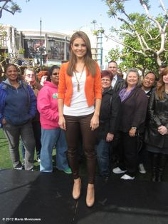 c1c192c259ed Maria Menounos wore Stella  amp  Dot s Bianca Tassel necklace when  announcing she s going to be