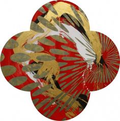 Quatrefoils - Paintings - Max Gimblett