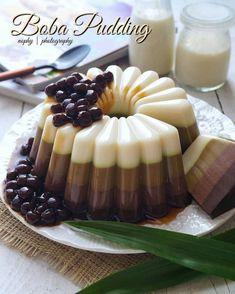 Pudding Desserts, Pudding Recipes, Tea Recipes, Baking Recipes, Cake Recipes, Snack Recipes, Dessert Recipes, Snacks, Cheese Cupcake