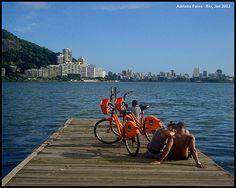 Lagoa Rodrigo de Freitas. Rio de Janeiro, 2012.