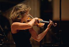 Violinist Anne-Sophie Mutter.