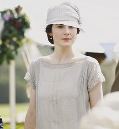 Lady Mary Crawley from Grantham on Downton Abbey