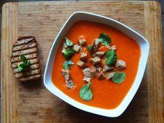 Student też potrafi gotować: Zupa krem z pieczonych papryk i pomidorów