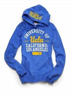 Victoria's Secret UCLA hoodie. . . My home town college didn't go lol but I'll support it :)