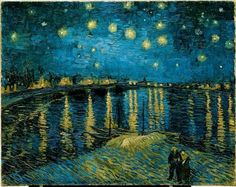 ...Starry Night on the Rhone - Van Gogh