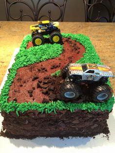 Monster truck cake - 2 years!