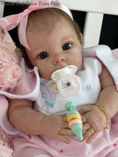 """New Reborn Baby Doll Kit Chrissy By Elly Knoops @20"""" @with Cloth Body • EUR 70,29 - PicClick FR"""