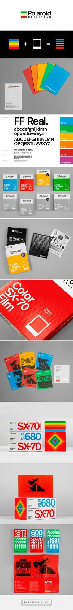 Brand New: New Logo, Identity, and Packaging for Polaroid Originals done In-house... - a grouped images picture - Pin Them All