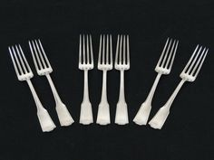 Frank Smith American Chippendale Place Setting Fork Sterling Silver Flatware 925 #Frank #Smith #Chippendale #Place #fork #Sterling #Silver #Flatware