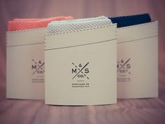 MS & Co. Silk knit pocket squares.