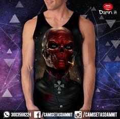 Camisilla Redskull  https://www.facebook.com/camisetasdamnit