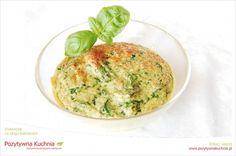 Suflet szpinakowy - #przepis na #szpinak w formie #suflet.u  http://pozytywnakuchnia.pl/suflet-szpinakowy/  #kuchnia #obiad #przekaski