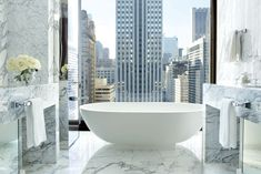 The Langham Chicago, located in a converted mid-century office tower, is making the luxury hotel scene in the Windy City more competitive. (Credit: Langham Hotels International, Ltd. Chicago Hotels, Atlanta Hotels, Hotels And Resorts, Best Hotels, Luxury Hotels, Luxury Travel, Marriott Hotels, Top Hotels, Langham Hotel