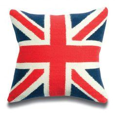 ✈ Union Jack Pillow ✈
