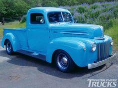 1947 Ford Pickup Truck Passenger Side