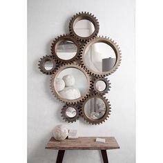 Cog Wall Mirrors//