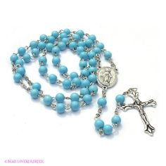 My belief in The Holy Rosary. They are in my hands every night.