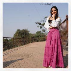 @deepikasingh150 - Deepika Singh Goyal - Stand tall, reach high and dream big 💞 #HappyHugsDay... Deepika Singh, Stand Tall, Dream Big, Skirts, Fashion, Moda, Fashion Styles, Skirt