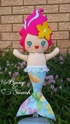 Cutie merbaby! Hand made by #Bunny&Smoosh