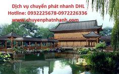 Dịch vụ chuyển phát nhanh đi Trung Quốc -  Tứ Xuyên   DHL GIẢM 30%