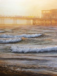 80 x oil on canvas. Glad I got up early for a Sat morning wander the other week. Love living 5 minutes from the beach. Landscape Art, Landscape Paintings, Oil On Canvas, Canvas Art, Original Art, Original Paintings, Worthing, Painter Artist, Oil Painters