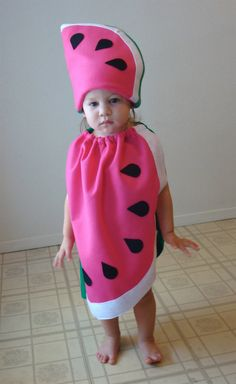Kids Costume Halloween Costume Watermelon by TheCostumeCafe, $65.00