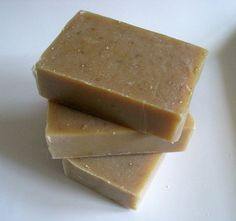Honey Oatmeal Goats Milk Soap- Unscented and 100% Natural