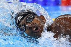 Robel Kiros Habte of Ethiopia competes in heat 1 of the Men's 100m Freestyle race of the Rio 2016 Olympic Games Swimming events at Olympic Aquatics Stadium at the Olympic Park in Rio de Janeiro, Brazil, 09 August 2016. EPA/DAVE HUNT AUSTRALIA AND NEW ZEALAND OUT
