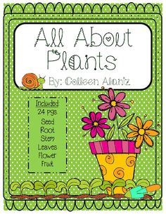 Totally Terrific in Texas- All About Plants Unit