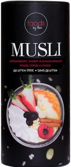 Foods by Ann Gluten Free Muesli, Sans Gluten Sans Lactose, Dried Cherries, Freeze Drying, Fibres, Cherry, Frozen, Canada, Foods