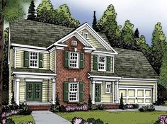 Eplans Traditional House Plan - Three Bedroom Traditional - 1582 Square Feet and 3 Bedrooms from Eplans - House Plan Code HWEPL62905