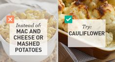 Mac n' cheese, pancakes, and pizza don't have to leave you feeling terrible. These lighter versions of popular high-carb meals are sure to rival the originals.  #healthy #lowcarb #recipes http://greatist.com/health/lower-carb-alternatives