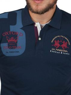 La Martina ® Polo Oxford Polo Rugby Shirt, Rugby Shirts, Mens Polo T Shirts, Men's Polo, La Martina Polo, Summer Collection, Men Fashion, New Look, Skateboard