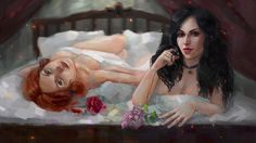 Lilac and Rose by AyeriR.deviantart.com on @DeviantArt