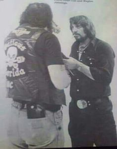 David Allan Coe and Waylon Jennings