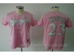 http://www.nikejordanclub.com/mlb-women-jerseys-milwaukee-brewers-23-weeks-pink-azzmx.html MLB WOMEN JERSEYS MILWAUKEE BREWERS #23 WEEKS PINK AZZMX Only $19.00 , Free Shipping!