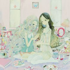Pretty Art, Cute Art, Art Inspo, Aya Takano, Room Deco, Drawn Art, Dibujos Cute, Funky Art, Arte Horror