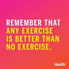Some Wednesday Fitspiration! Whether you're trying to drop a few pounds or looking to train for your first 5K, embrace these 24 motivating health quotes and sayings to keep you on track. | Health.com