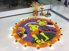 Onam Celebrations at Work in Kerala, India !