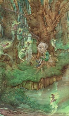Leprechaun Fantasy Art