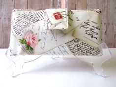 Handmade Wallet Women Love Letters And Postcards